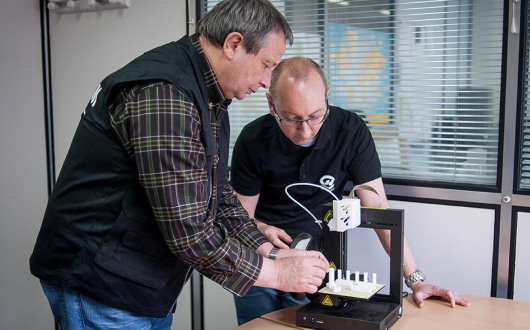 For Henryk Klaba and Jean-François Pillot, 3D printing offers many possibilities.
